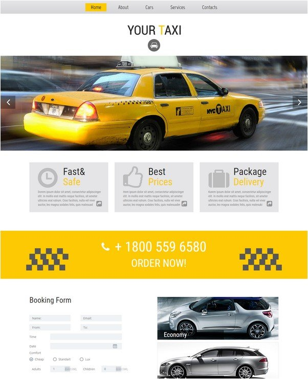 Your Taci Free Css Template