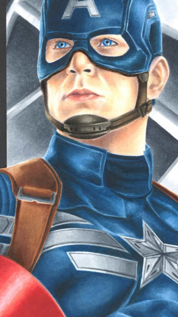 captain america art marvel comics steve rogers