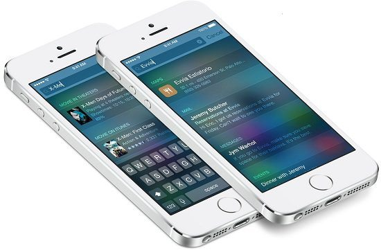 iOS 8 – Vector SpotLight UI