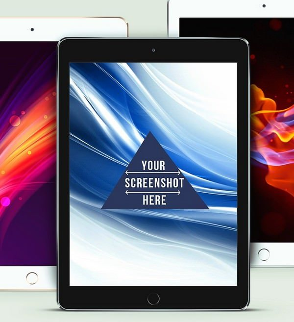 iPad Air 2 PSD Screen Mockup – Freebie