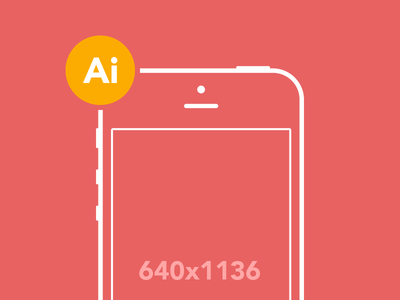 iPhone 5 Wireframe