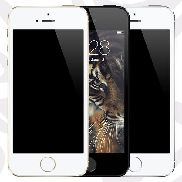 iPhone 5s ( Gold – Black – Silver ) [PSD]