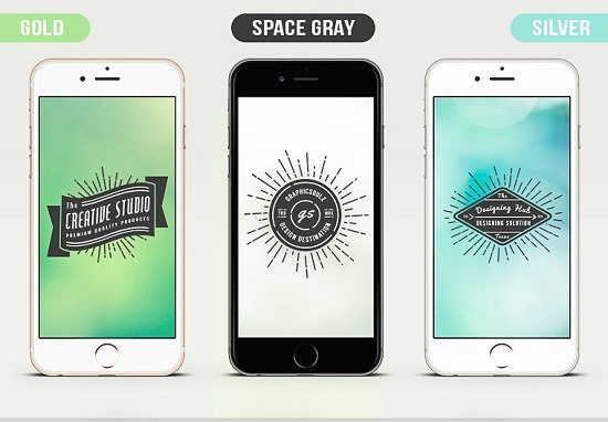 iPhone 6 PSD Mockup Vol.2 – Freebie