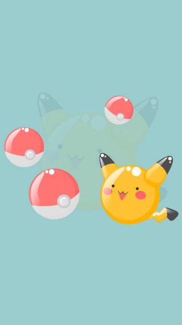 Pikachu Pokeballs