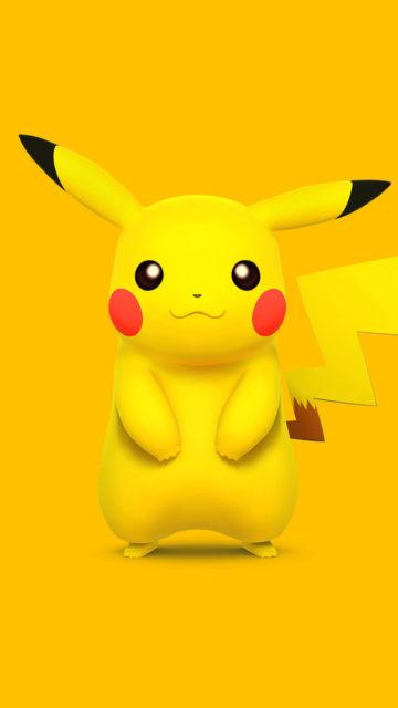 Yellow Pokemon Pikachu