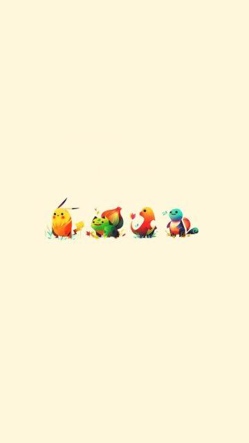 Little pokemons