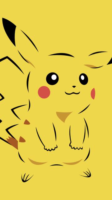 pikachu Sketch wallpaper