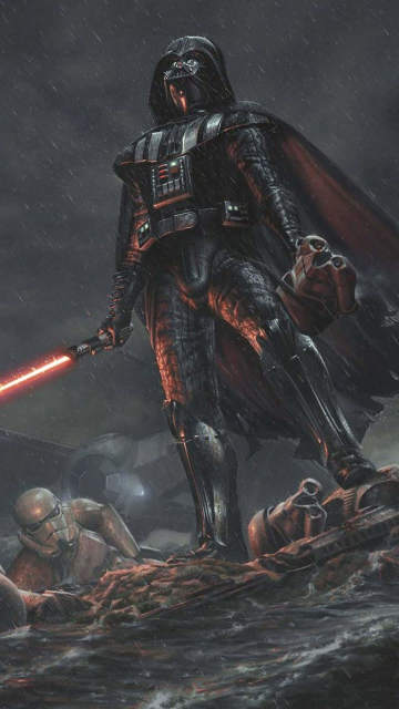 iphone-star-wars-darth-vader-art-rain