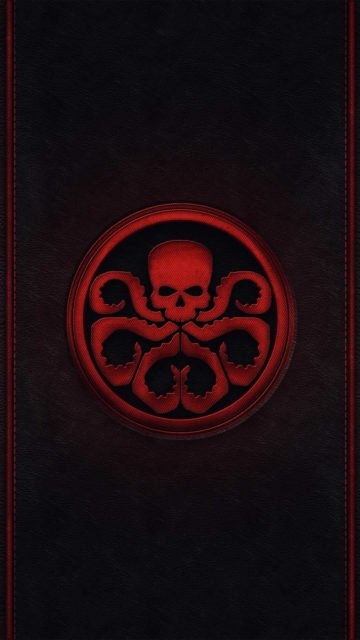 iphone-wallpaper-skull-captain-america-style-minimalism-tentacles-sign-hydra