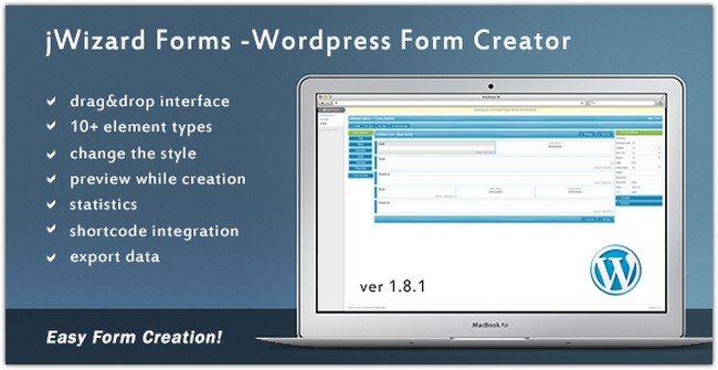jWizard Forms – WordPress Form Creator