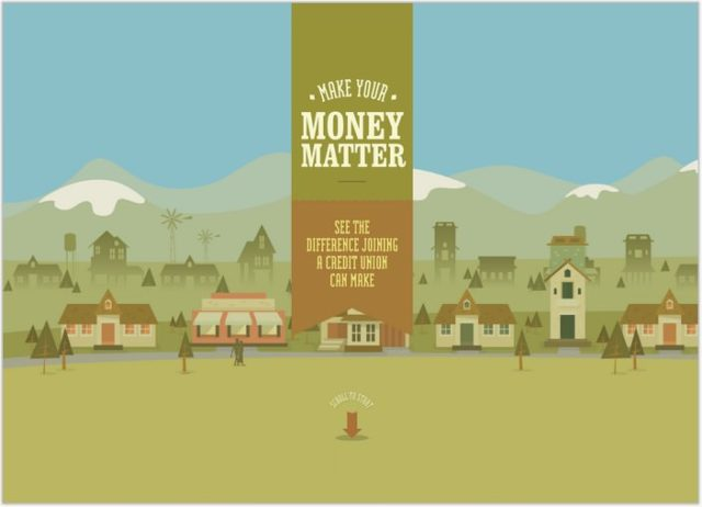 moneymatter- Single Page inspiration