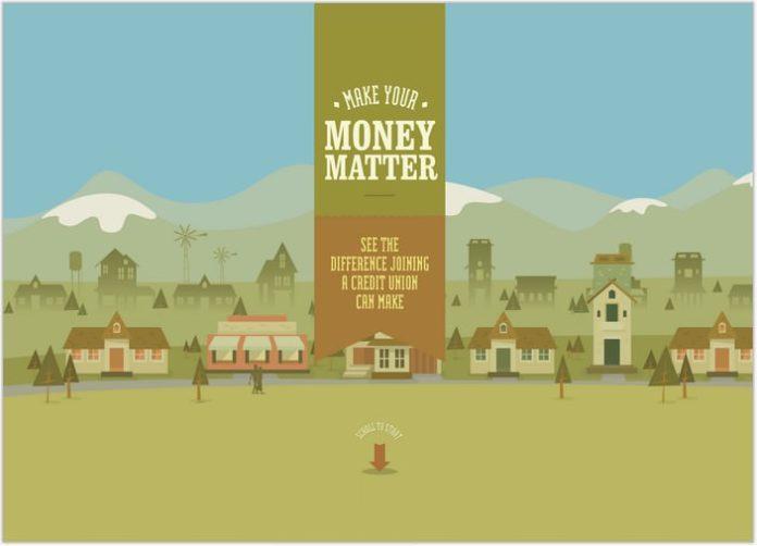 moneymatter- Single Page inspiration