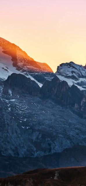 mountain iphone x