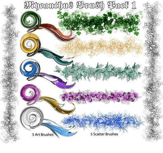 mycanthus brush pack 1