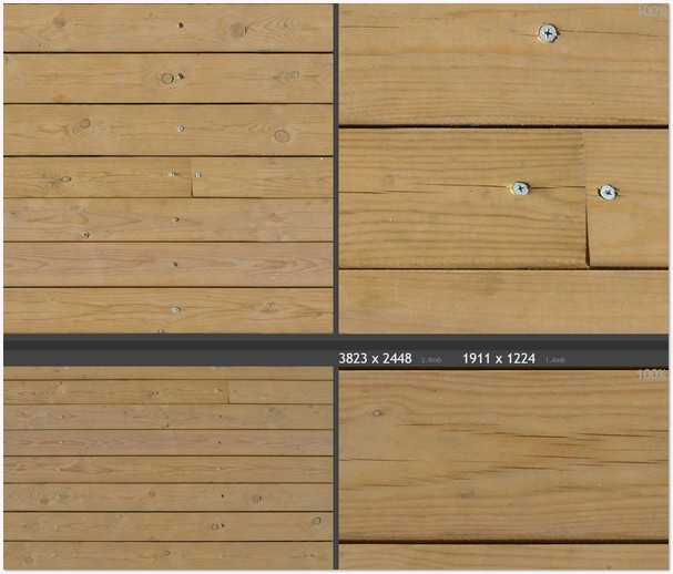 Plank texture