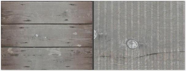 planks in light grey tone