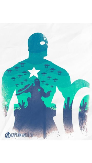 the-avengers-captain-america-art-iphone-wallpaper