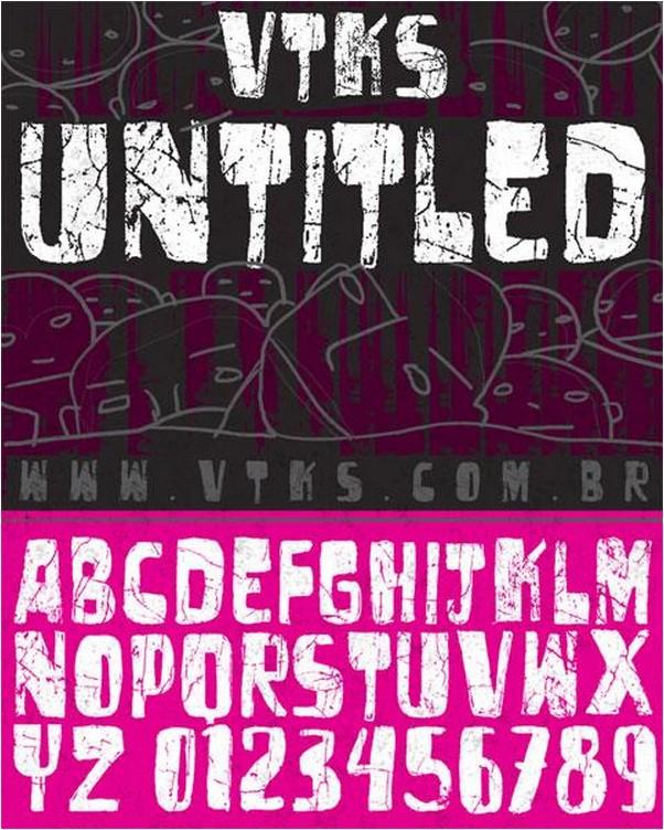 vtks untitled font