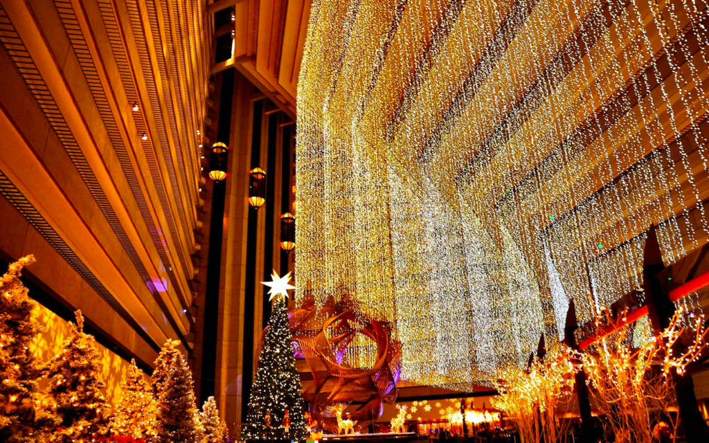 christmas outdoor decoration wallpaper