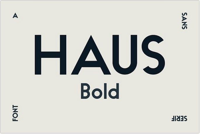 HAUS Sans Bold