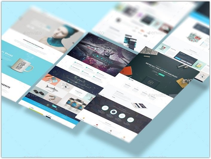 Isometric Web n App Mockup 2