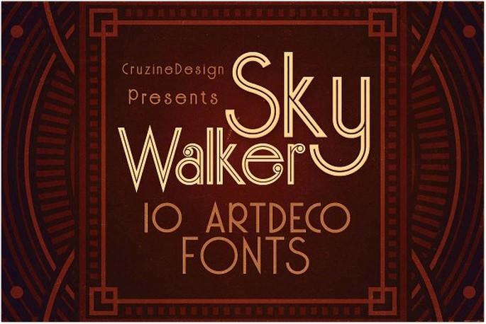ArtDeco Typeface