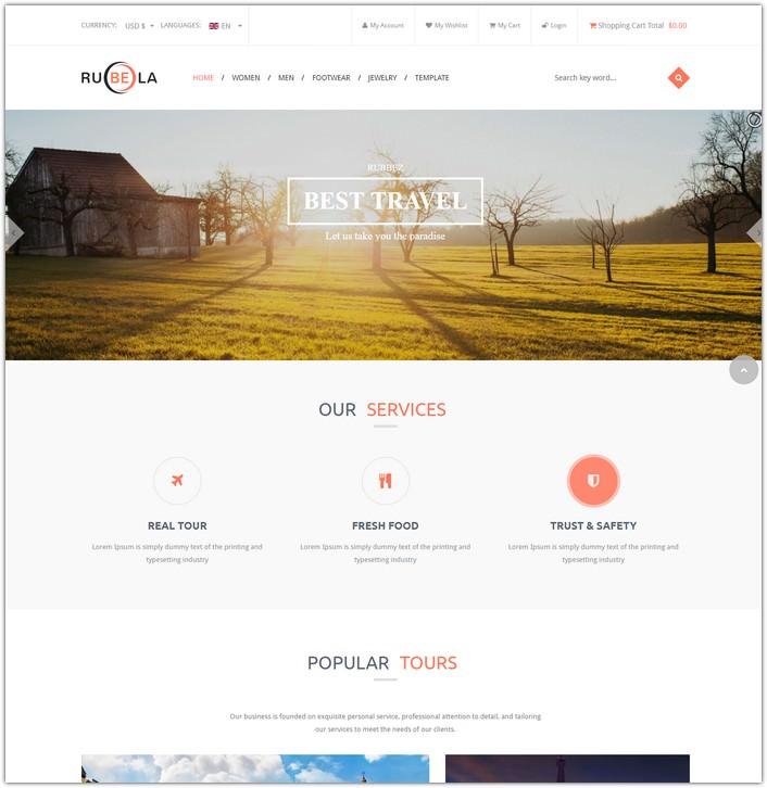 Vina Rubela - Multipurpose VirtueMart Joomla Template