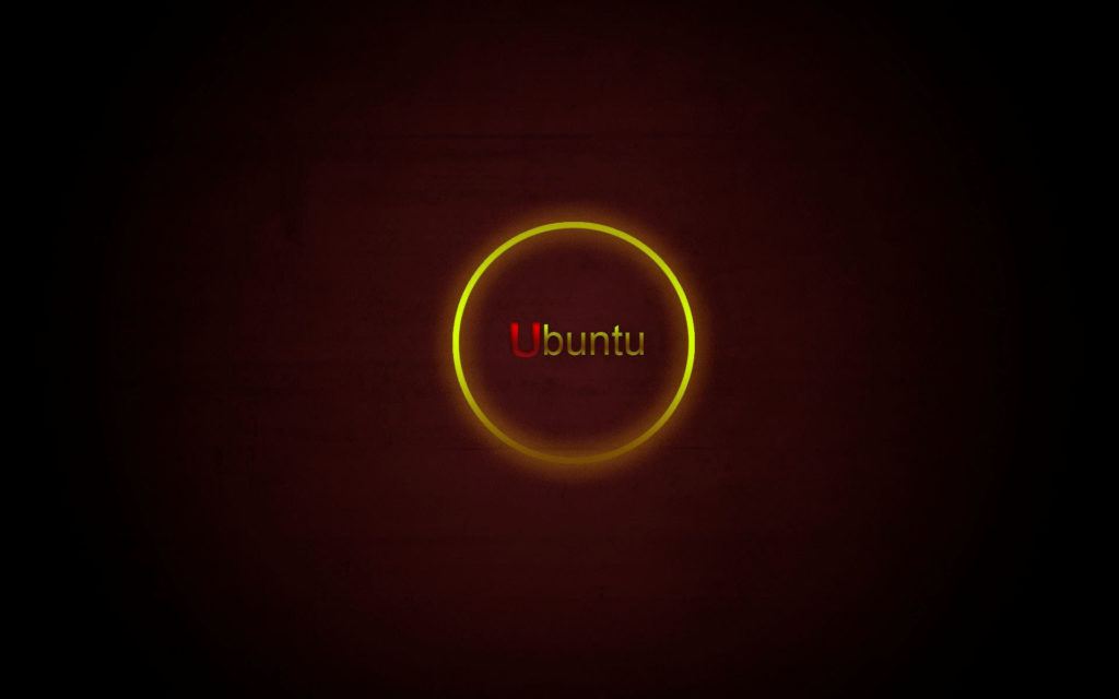 Yellow-circle-ubuntu-HD-Wallpaper