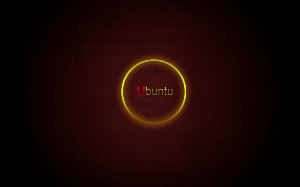 Yellow-circle-ubuntu-HD-Wallpaper