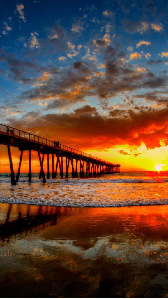 beautiful sunset dream
