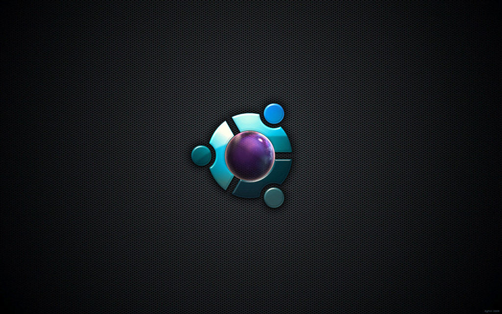 brand logo of ubuntu HD Background