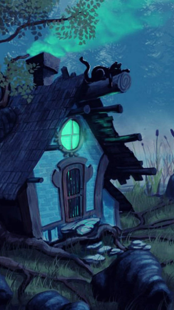 iPhone-cottage-mysterious