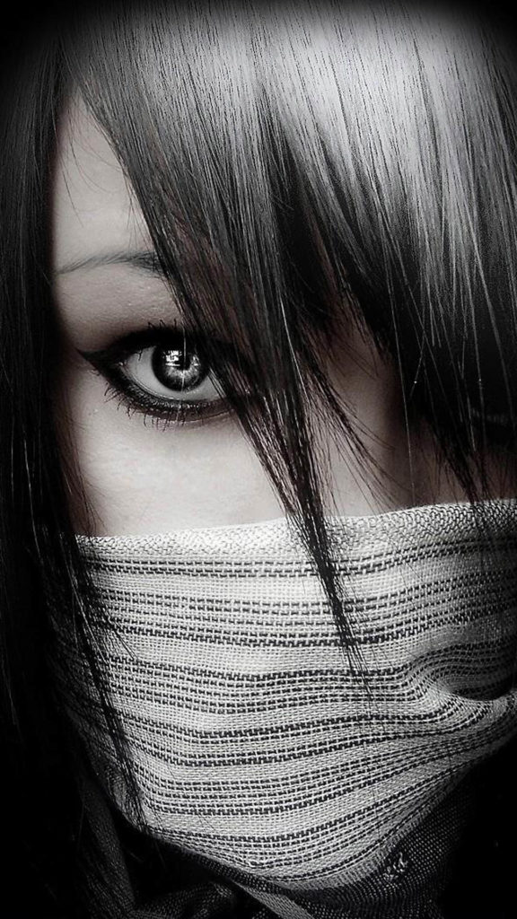 mysterious-girl