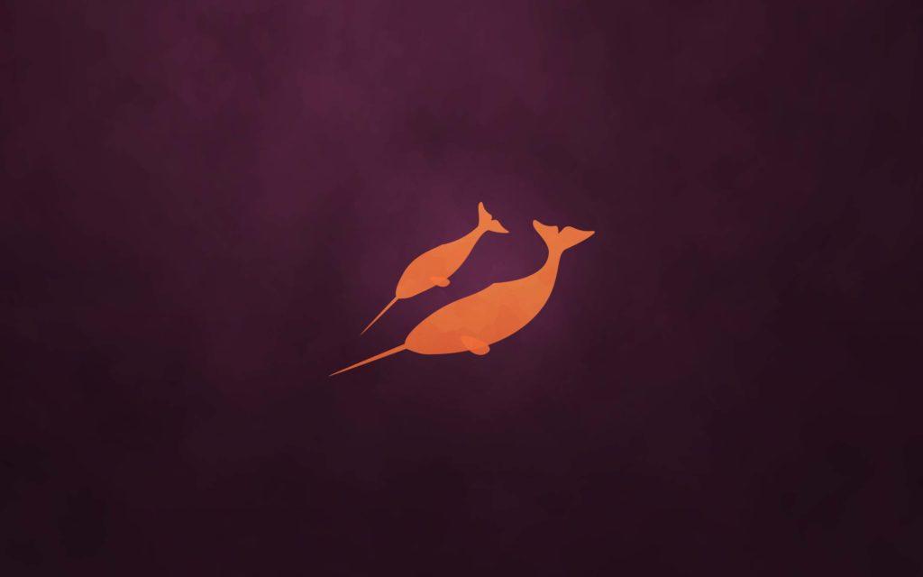 ubuntu-orange-Wallapper-PC