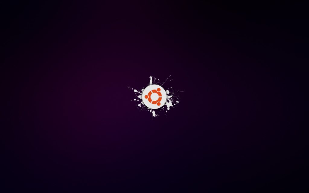 ubuntu-os-purple-background