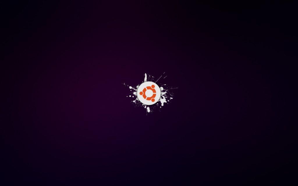 ubuntu-os-purple-background