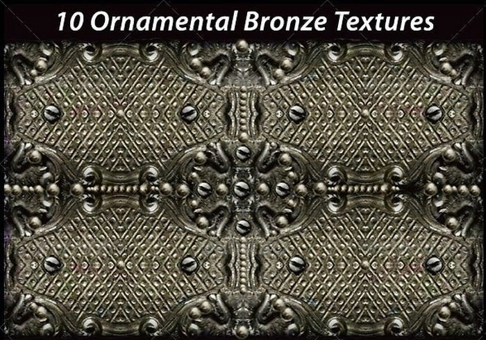 10 Ornamental Bronze Texture