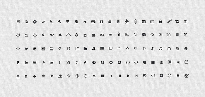 106 Pixel Perfect Icons