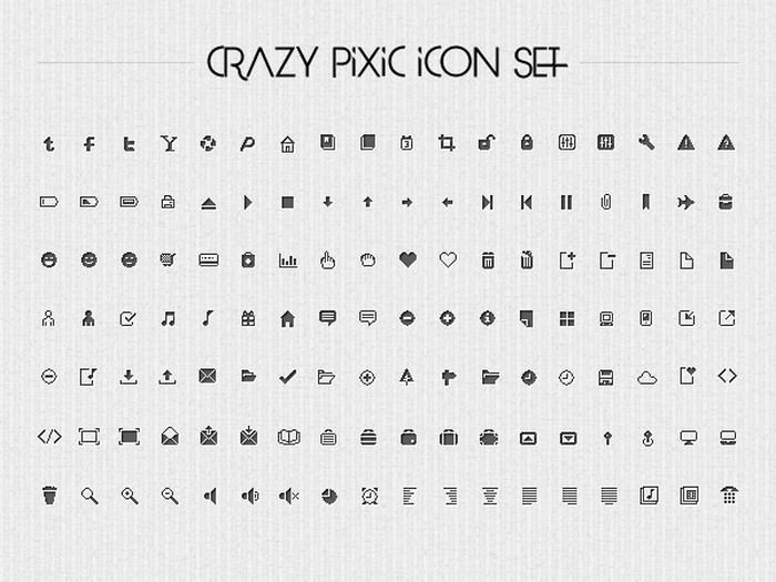 126 Clean Pixel Icons