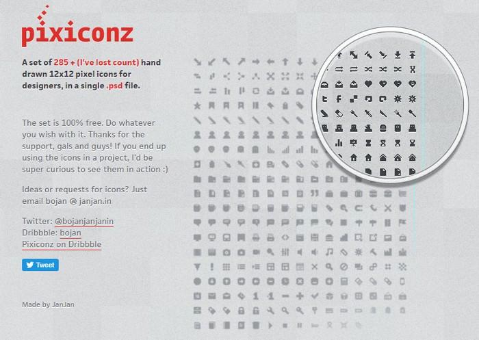285+ Pixiconz Designer Icons