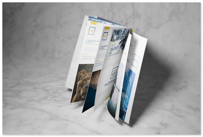 A4 / A5 Brochure-Booklet Mockups