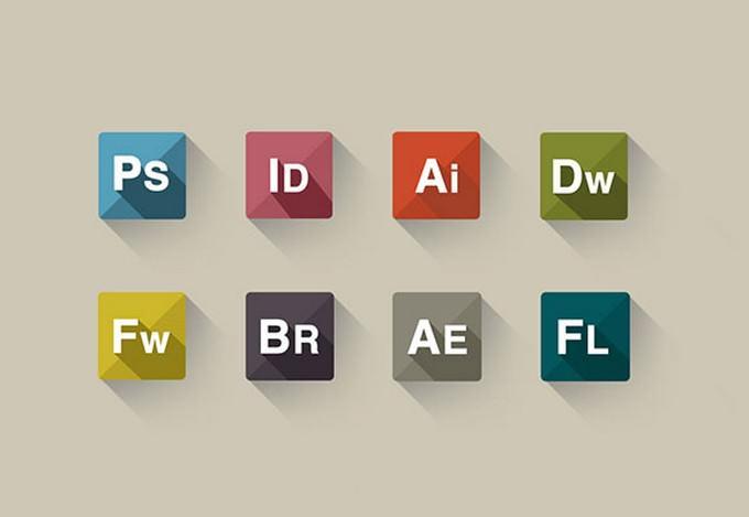 Adobe PSD icon set