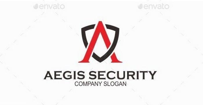 Aegis Security - Logo Template