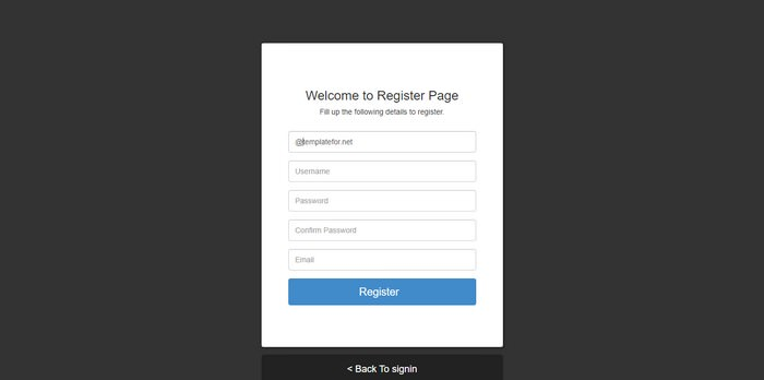 Ajax Register using PHP and PDO