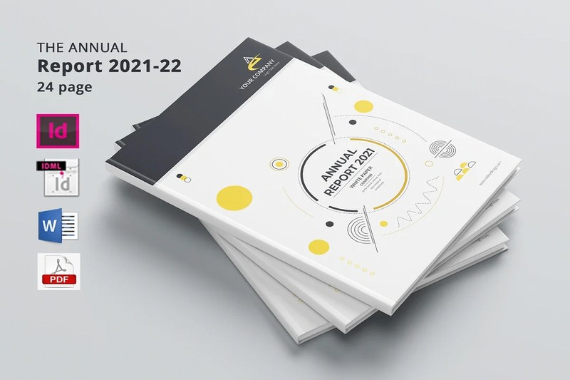 Annual Report 24 page's