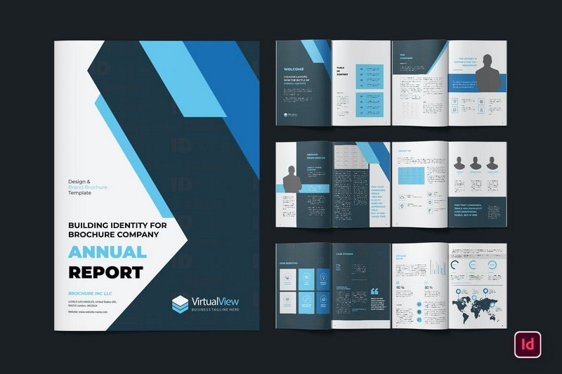 Annual Report Brochure Pack