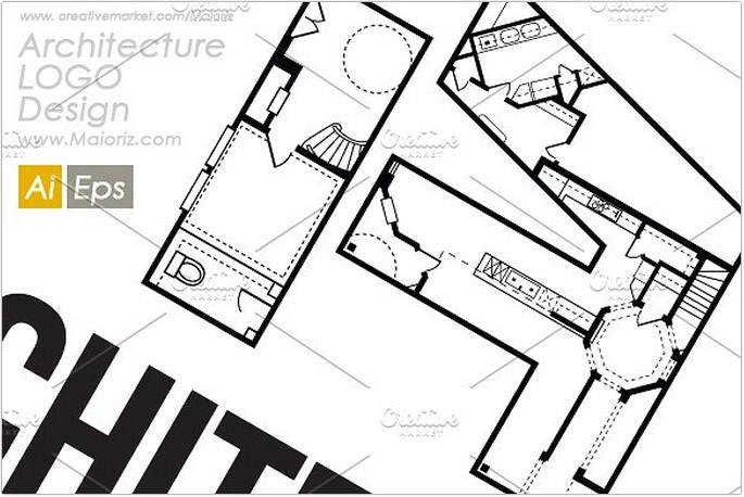 Architecture A Logo design