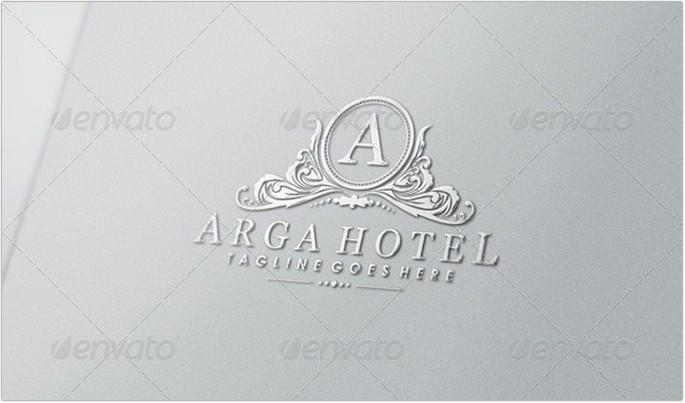Arga Hotel Logo Design