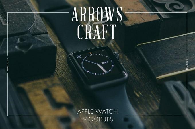 Arrows & Craft - Apple Watch Mockup