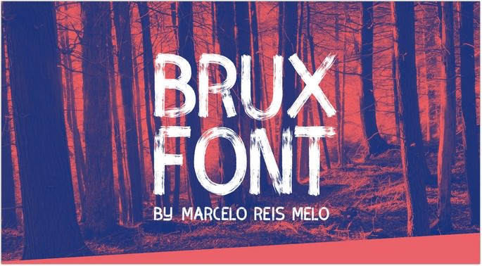 BRUX BOLD BRUSH FONT